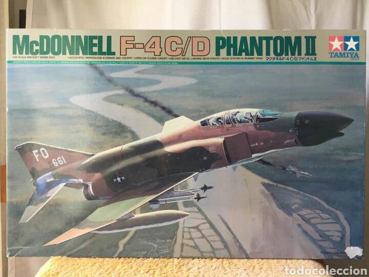 MAQUETA TAMIYA MCDONNELL F-4C/D PHANTOM II 1:32 (Juguetes - Modelismo y Radio Control - Maquetas - Aviones y Helicópteros)