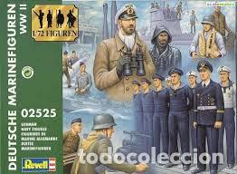 REVELL - GERMAN NAVY FIGURES 02525 1/72 (Juguetes - Modelismo y Radiocontrol - Maquetas - Militar)