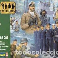 Maquetas: REVELL - GERMAN NAVY FIGURES 02525 1/72. Lote 140187736