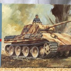 Maquettes: HASEGAWA TANQUE PZ.KPFW V PANTHER AUSF.G 1:72. Lote 114745000