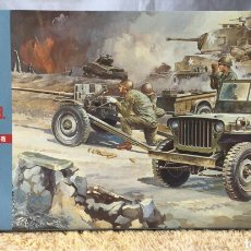 Macchiette: HASEGAWA US JEEP WILLYS MB MÁS CAÑÓN 37MM 1:72. Lote 114745267