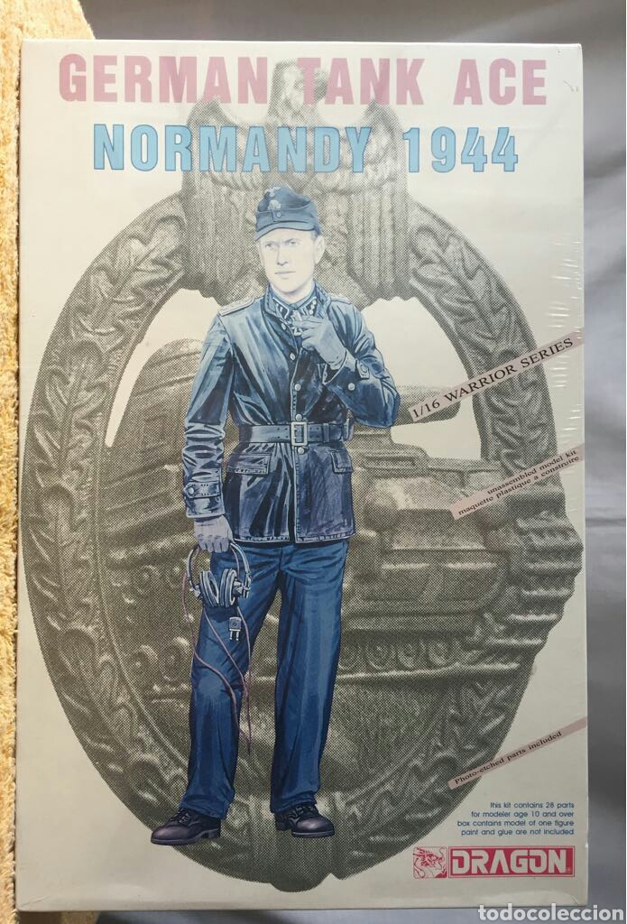 DRAGON TRIPULACIÓN TANQUE ALEMÁN NORMANDIA (1944) 1:16 (Juguetes - Modelismo y Radiocontrol - Maquetas - Militar)