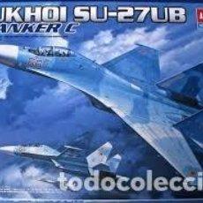 Maquetas: MAQUETA 1/48 - SUKHOI SU-27UB FLANKER C ACADEMY. Lote 114773083