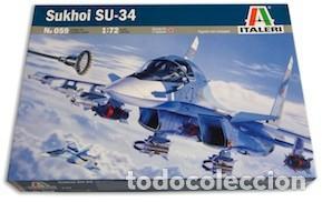 MAQUETA 1/72 - SUKHOI SU-34 (Juguetes - Modelismo y Radio Control - Maquetas - Aviones y Helicópteros)