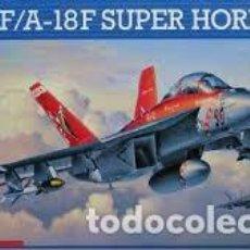 Maquetas: MAQUETA 1/48 - F/A-18F SUPER HORNET. Lote 131023419