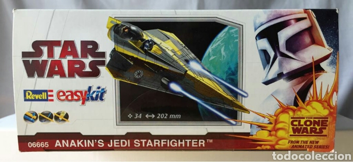 Maquetas: Maqueta REVELL Star Wars Easykit Anakins Jedi Starfighter - Foto 2 - 114837164
