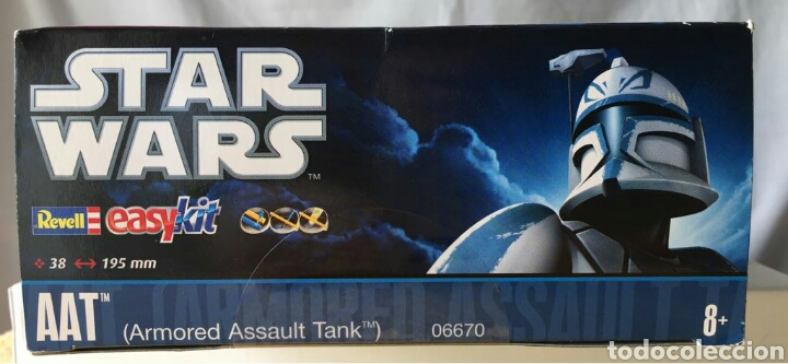 Maquetas: Maqueta REVELL Star Wars Easykit AAT (Armored Assault Tank) - Foto 2 - 114837548