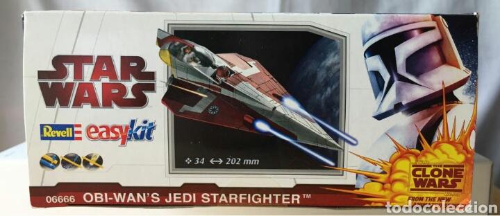 Maquetas: Maqueta REVELL Star Wars Easykit Obi-Wans Jedi Starfighter - Foto 2 - 114837739