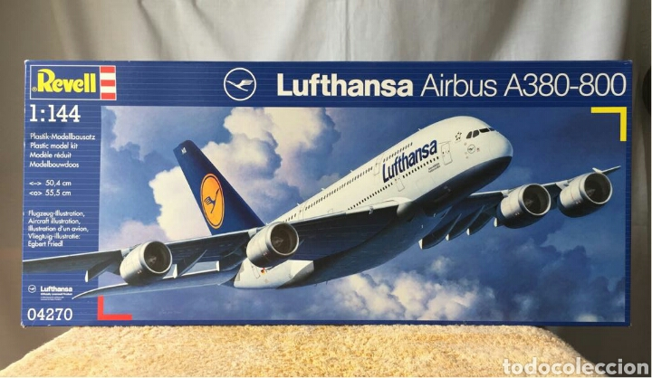 REVELL AIRBUS A380-800 LUFTHANSA 1:144 (Juguetes - Modelismo y Radio Control - Maquetas - Aviones y Helicópteros)