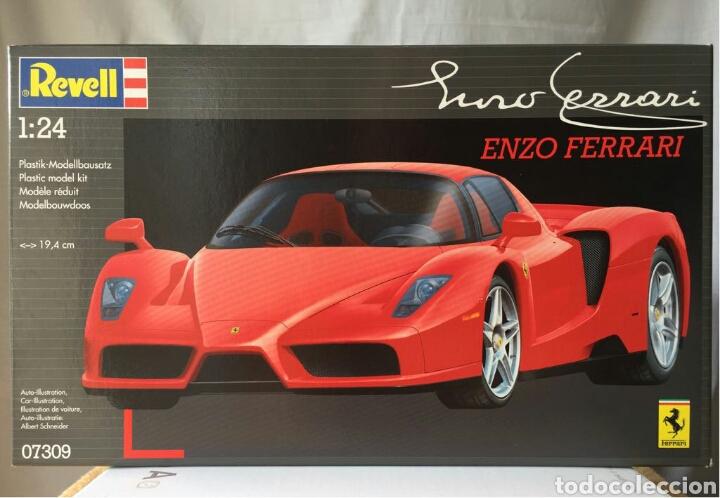 Maquetas: REVELL Ferrari ENZO 1:24 - Foto 4 - 115025688