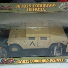 Maquetas: THE ULTIMATE SOLDIER.M1025 COMMAND VEHICLE.XTREME DETAIL.1:18.COCHE +2 MUÑECOS + LANZADOR. Nº10134.. Lote 115388162