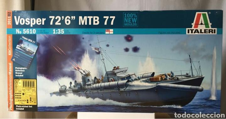 ITALERI VOSPER MTB 77 1:35 (Juguetes - Modelismo y Radiocontrol - Maquetas - Barcos)