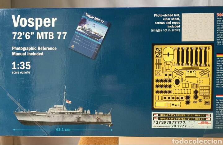 Maquetas: ITALERI Vosper MTB 77 1:35 - Foto 2 - 115519844