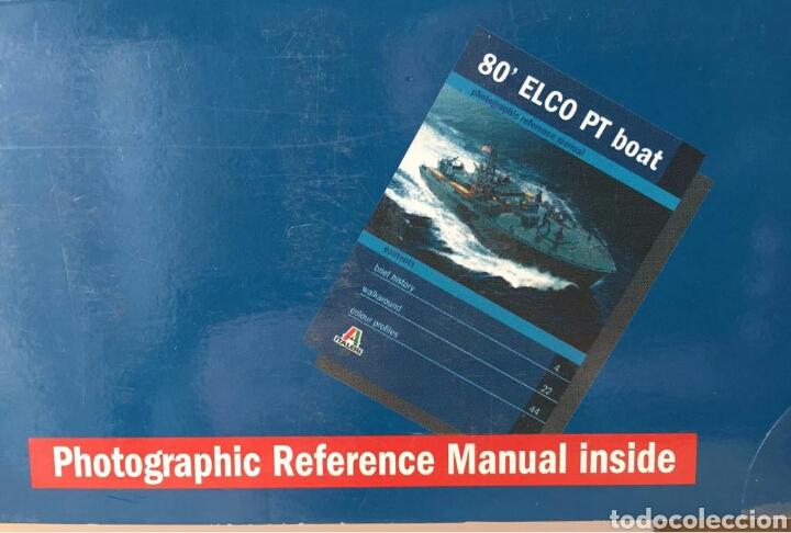 Maquetas: ITALERI Elco 80Torpedo Boat PT-596 1:35 - Foto 3 - 115520472