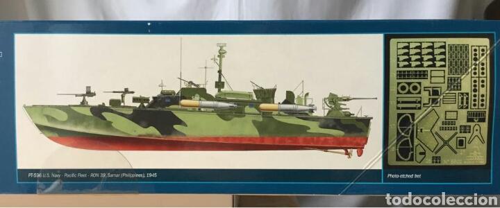 Maquetas: ITALERI Elco 80Torpedo Boat PT-596 1:35 - Foto 2 - 115520472