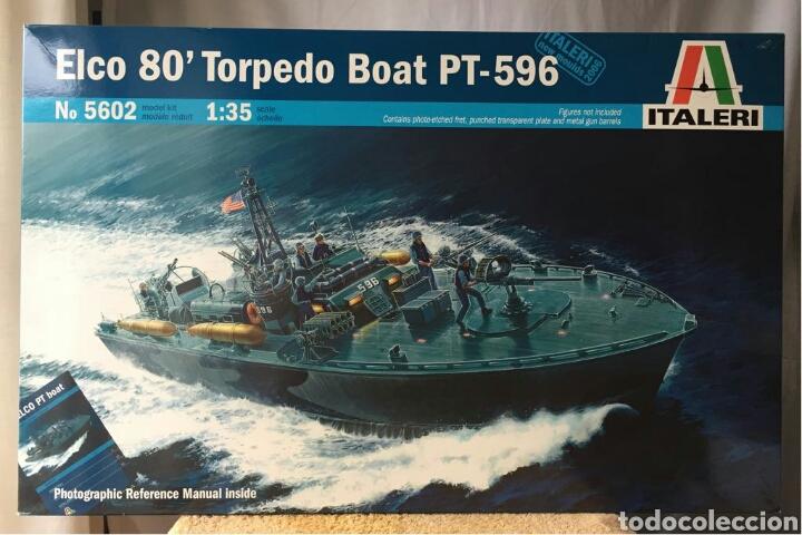 ITALERI ELCO 80'TORPEDO BOAT PT-596 1:35 (Juguetes - Modelismo y Radiocontrol - Maquetas - Barcos)