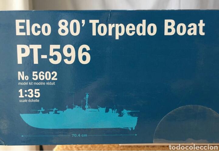 Maquetas: ITALERI Elco 80Torpedo Boat PT-596 1:35 - Foto 4 - 115520472