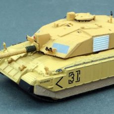 Maquetas: TANQUE IXO ALTAYA 1/72 H0 CHALLENGER 2 2ND ROYAL TANK REGIMENT SOUTHERN IRAQ 2003 BLINDADOS COMBATE. Lote 115576771