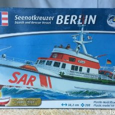 Maquetas: REVELL BARCO RESCATE BERLIN 1:72. Lote 116129312