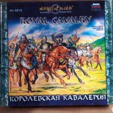 Maquetas: KING OF RULE ZVEZDA 8818 ROYAL CAVALRY. Lote 116242952