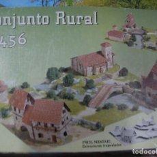 Maquetas: MAQUETA IGLESIA SANTA CECILIA - CONJUNTO RURAL 1456 - NUEVO EN CAJA. Lote 116353319