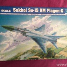 Maquetas: SUKHOI SU-15 TM FLAGON 1:48 TRUMPETER 02812 MAQUETA AVION. Lote 116366323