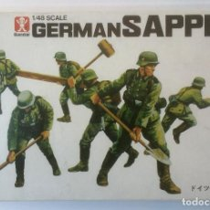 Maquetas: MAQUETA GERMAN SAPPER. BANDAI, ESCALA 1:48. MADE IN JAPAN. REF. 8244. NUEVA.. Lote 116780227