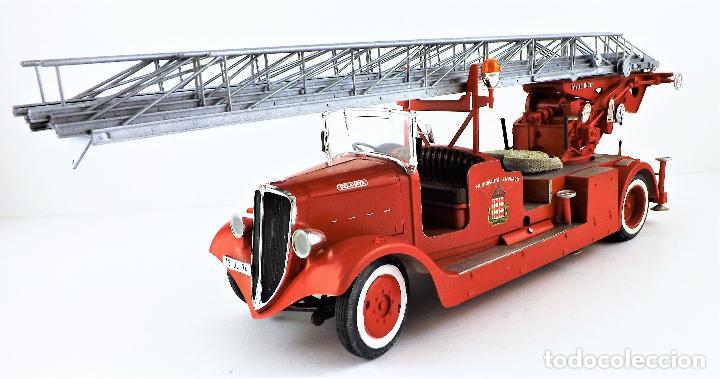 Maquetas: camión de bomberos Delahaye. Revell - Foto 2 - 117015455