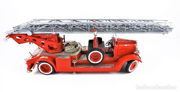 Maquetas: camión de bomberos Delahaye. Revell - Foto 5 - 117015455