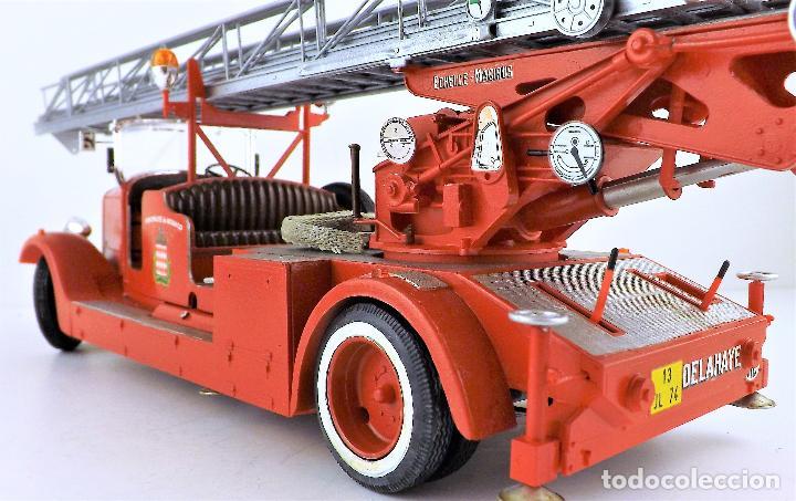 Maquetas: camión de bomberos Delahaye. Revell - Foto 9 - 117015455