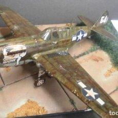 Maquetas: CURTISS P-40N WARHAWK. DIORAMA ESCALA 1/72. Lote 117424331