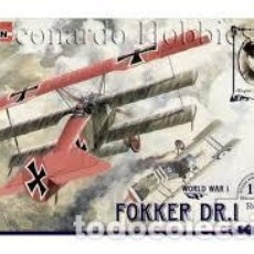 Maquetas: RODEN - FOKKER DR.1 010 1/72. Lote 117469023