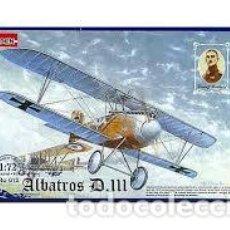 Maquetas: RODEN - ALBATROS D.III 012 1/72. Lote 117469299
