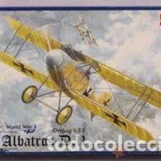 Maquetas: RODEN - ALBATROS D.II 018 1/72. Lote 117469523