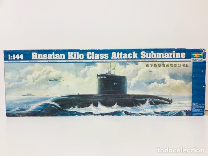 MAQUETA TRUMPETER 1 :144 RUSSIAN KILO CLASS ATTACK SUBMARINE REF. 05903 EN CAJA NUEVO (Juguetes - Modelismo y Radiocontrol - Maquetas - Barcos)