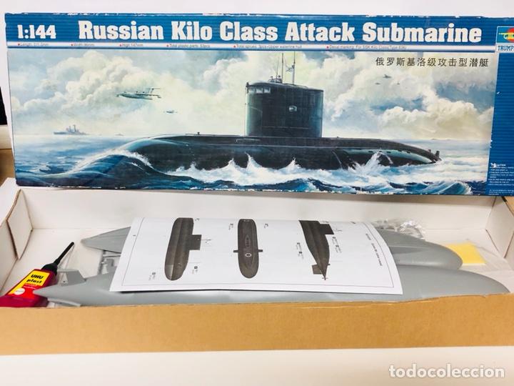 Maquetas: Maqueta TRUMPETER 1 :144 RUSSIAN KILO CLASS ATTACK SUBMARINE Ref. 05903 en caja nuevo - Foto 2 - 117585851