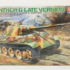 Maquetas: MAQUETA ACADEMY STATIC MODEL PANTHER-G LATE VERSION 1/25 REF 13018 PANZERKAMPFWAGEN V AUSF.G PANTHER. Lote 117646418