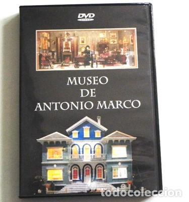 DVD DEL MUSEO ANTONIO MARCO MAQUETAS Y CASITAS DE MUÑECAS MINIATURA - CIUDAD BELÉN ARTE CASA MAQUETA (Juguetes - Modelismo y Radiocontrol - Maquetas - Otras Maquetas)