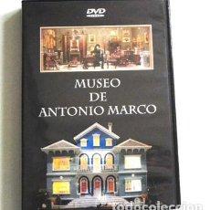 Maquetas: DVD DEL MUSEO ANTONIO MARCO MAQUETAS Y CASITAS DE MUÑECAS MINIATURA - CIUDAD BELÉN ARTE CASA MAQUETA. Lote 117713015