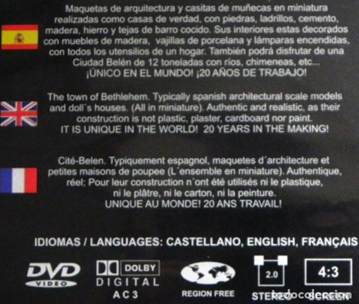 Maquetas: DVD DEL MUSEO ANTONIO MARCO MAQUETAS Y CASITAS DE MUÑECAS MINIATURA - CIUDAD BELÉN ARTE CASA MAQUETA - Foto 2 - 117713015