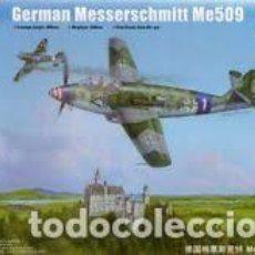 Maquetas: TRUMPETER - GERMAN MESSERSCHMITT ME509 02849 1/48. Lote 117958667