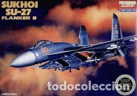 ACADEMY - SUKHOI SU-27 FLANKER B 2131 1/48 (Juguetes - Modelismo y Radio Control - Maquetas - Aviones y Helicópteros)