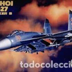 Maquetas: ACADEMY - SUKHOI SU-27 FLANKER B 2131 1/48. Lote 144083906