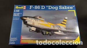 REVELL - F-86 D DOG SABRE 04553 1/48 (Juguetes - Modelismo y Radio Control - Maquetas - Aviones y Helicópteros)
