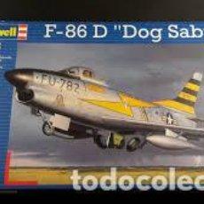 Maquetas: REVELL - F-86 D DOG SABRE 04553 1/48. Lote 118003187