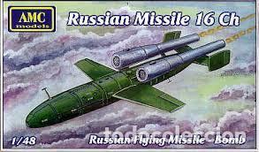 AMC MODELS - RUSSIAN MISSILE 16 CH 4803 1/48 (Juguetes - Modelismo y Radio Control - Maquetas - Aviones y Helicópteros)