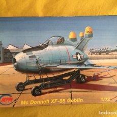 Maquetas: MC DONNELL XF-85 GOBLIN 1:72 MPM 72042 MAQUETA AVION. Lote 118071527