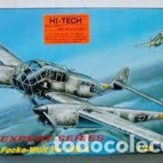 Maquetas: MPM - FOCKE-WULF FW 189 A 48034 1/48 VERSION ESPECIAL HI-TECH. Lote 118097487