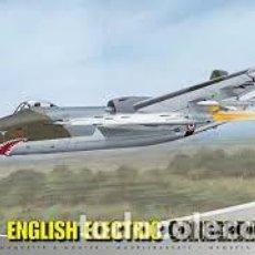 Maquetas: AIRFIX - ENGLISH ELECTRIC CANBERRA D I 8 10102 1/48 + EDUARD FE451 FOTOGRABADO COLOR . Lote 139676738