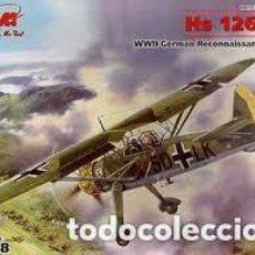 Maquetas: ICM - HS 126A-1 WWII GERMAN RECONNAISSANCE PLANE 48211 1/48. Lote 118113419